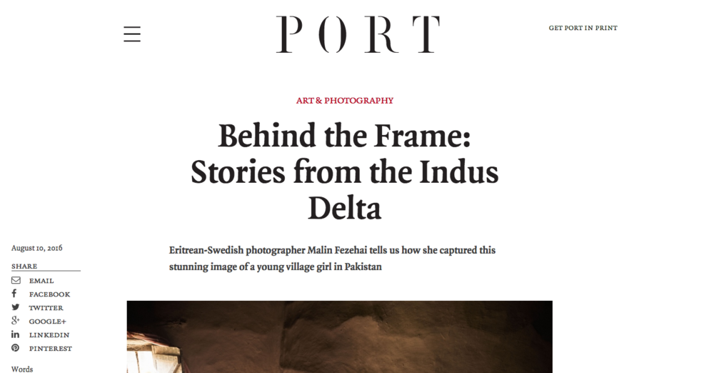 PORT Magazine   http://www.port-magazine.com/art-photography/behind-the-frame-stories-from-the-indus-delta/