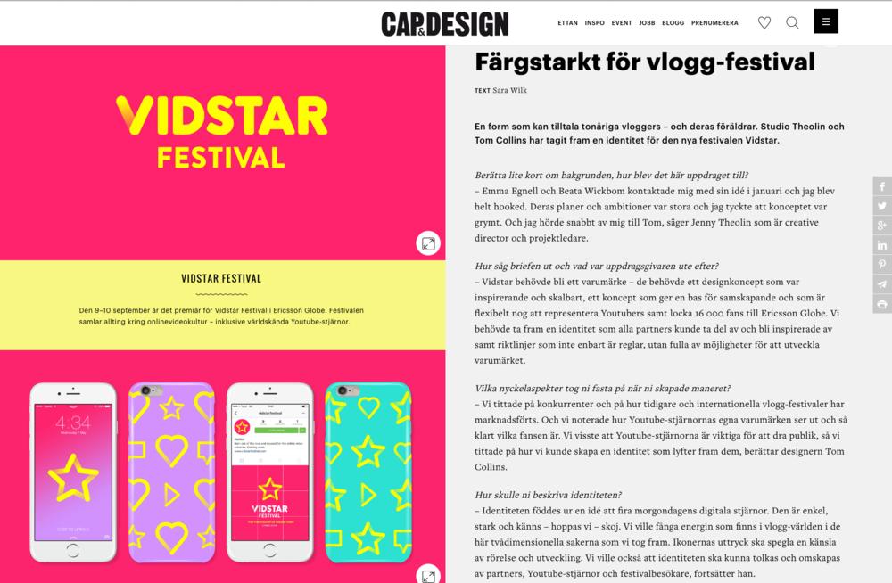 Färgstarkt för vlogg-festival