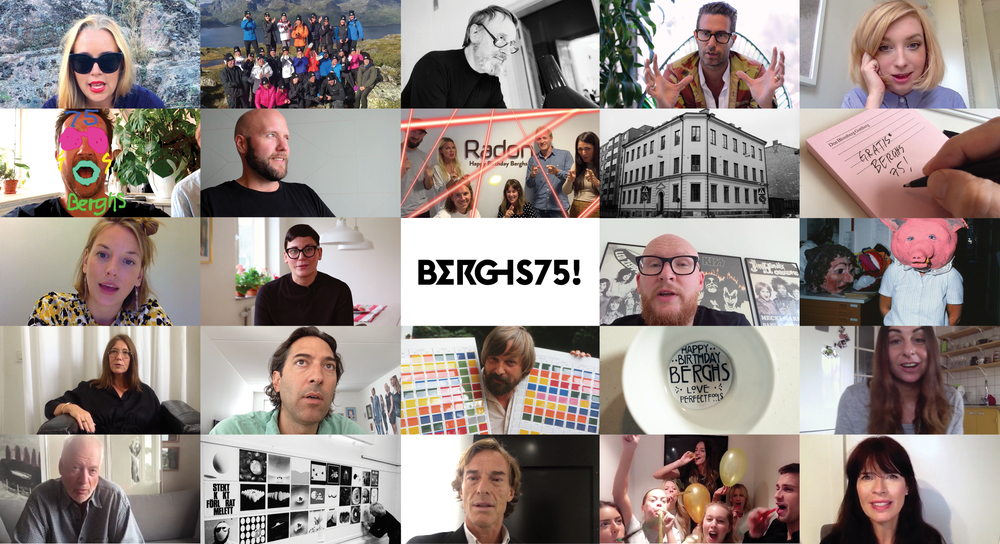 CONTENT STRATEGY & FILM PRODUCTION   BERGHS 75TH ANNIVERSARY   BERGHS SCHOOL OF COMMUNICATION, STOCKHOLM, 2016