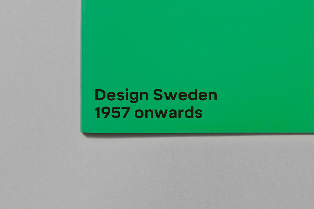 REBRAND DESIGN SWEDEN DESIGN SWEDEN, ONGOING >FEATURED ON CREATIVE BOOM<