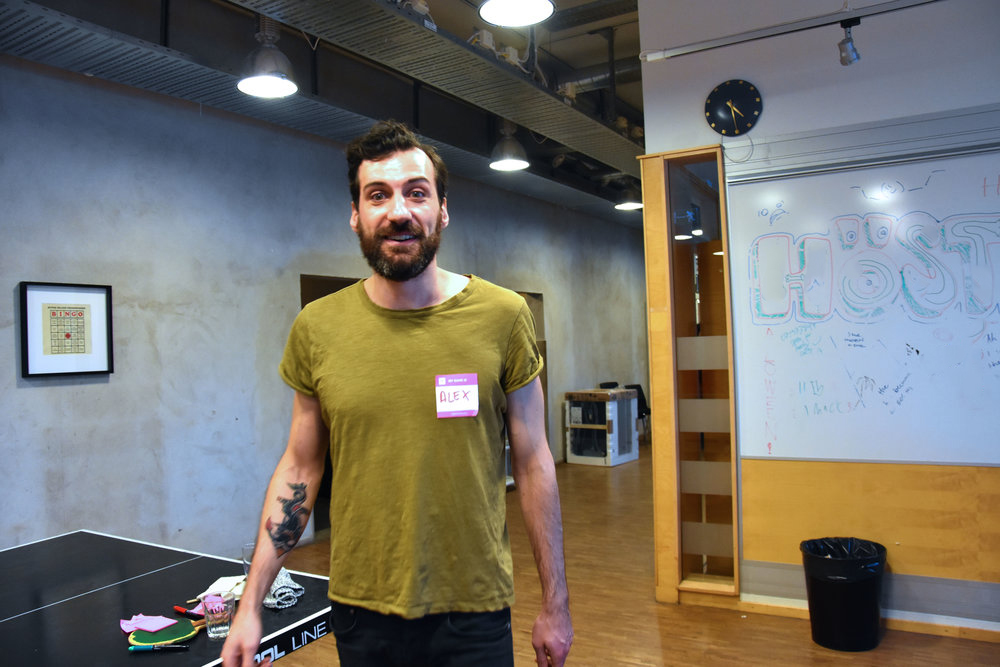 Alessandro Icardi, Digital Strategist - Alessandro Icardo (some of you met him tonight) has worked many years as a Marine Biologist (MA) in Scotland, specialising in deep sea research. During his BA he spent a month on Galapagos (OMG). Anyway, since moving to Stockholm he has graduated from the Digital Data Strategy programme at Hyper Island in 2015 and has been working mainly with start-ups on digital marketing and growth.