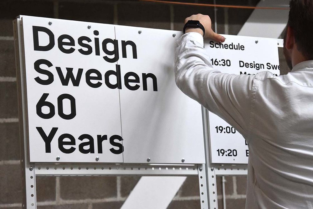 EVENT & INTERACTION DESIGN   60 YEARS, SESSIONS & MAP   DESIGN SWEDEN, STOCKHOLM, 2017 > FEATURED ON CREATIVE BOOM <