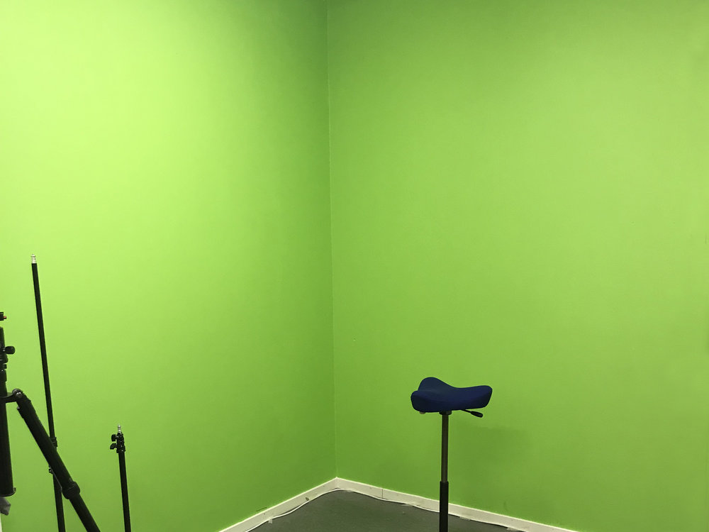 Green Screen Room 1