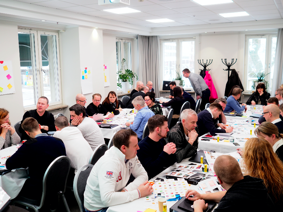 LEARNING DESIGN & FACILITATION  HYPER ISLAND BUSINESS   COMPANY X (NDA), 2018, GOTHENBURG