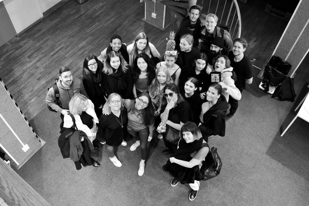 COURSE DESIGN (COMMUNICATION)  BERGHS   STOCKHOLM, SWEDEN 2016-2018
