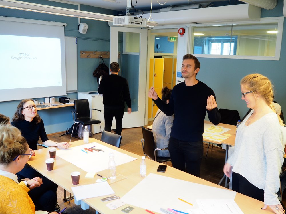 WORKSHOP ON WORKSHOPS  BERGHS   STOCKHOLM, SWEDEN 2018