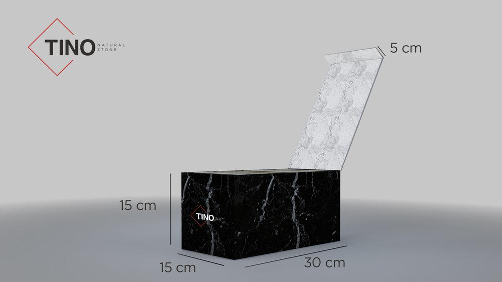 medidas caja muestras