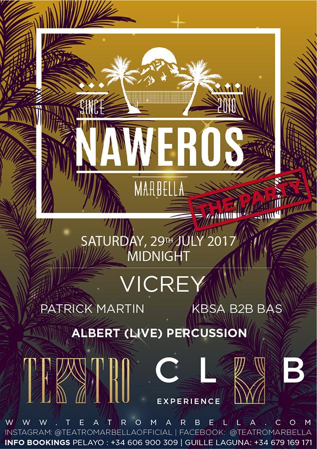 Flyer Teatro Club Marbella