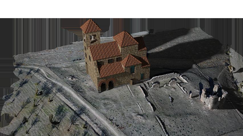 Remodelación 3D Iglesia San Pedro
