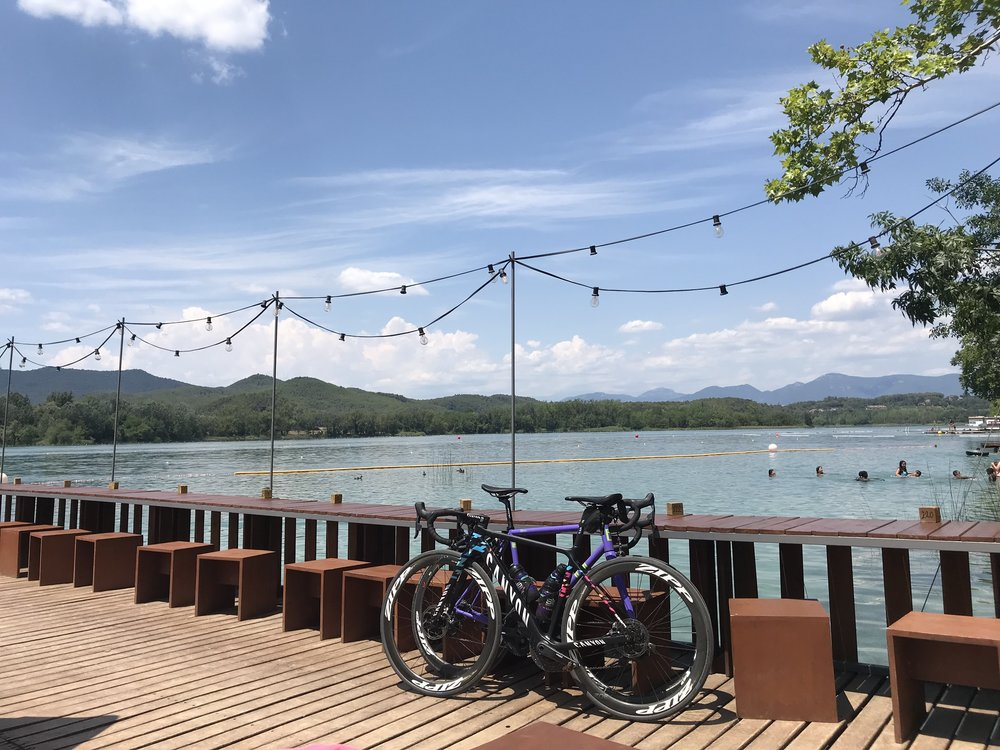 Day Trip exploring the scenic lake of banyoles   Crystal clear waters, lakeside eating and some of the best cycling in Europe.