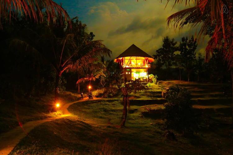 Balian Treehouse(with a private pool) in Balian Beach, Bali, Selemadeg Barat, Indonesia