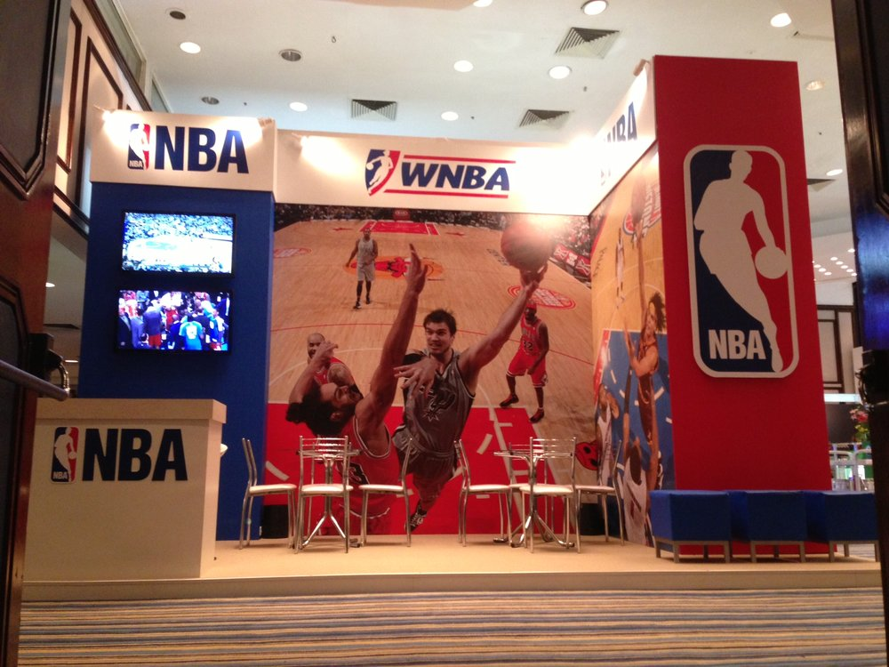 NBA at Sportel Rio 13