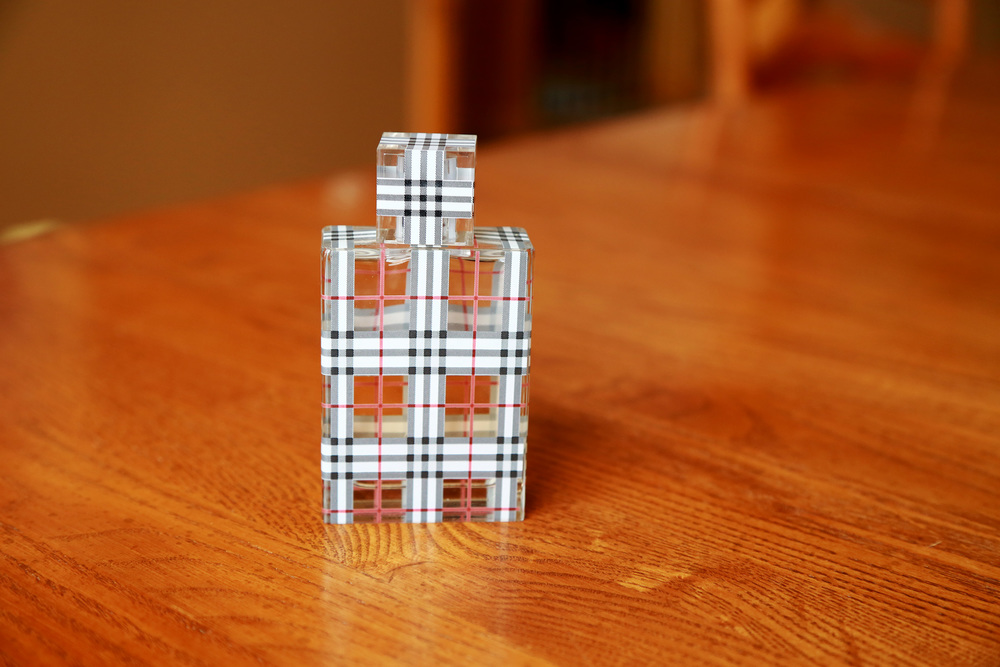 I have always loved perfume. I do not want to bore you with the psychology behind scents and emotion, but this perfume in particular reminds me of pure happiness. This is Burberry Brit perfume. I have worn this perfume during some of the most fun times in my life. It reminds me of Summer, and going on countless dates with Kyle. Perfume makes me feel good. I probably have about 6 kinds.