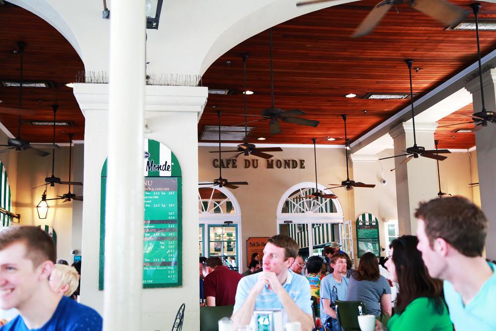 Cafe du Monde, New Orleans, LA.