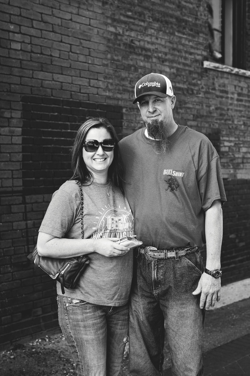 Marla K. and Andy M. - Came to downtown Springfield for the afternoon.