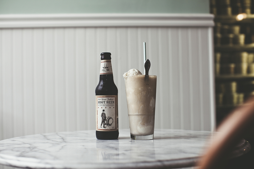 Not Your Father's Root Beer Float