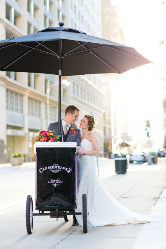 Spokes and Spoons Ice Cream Cart