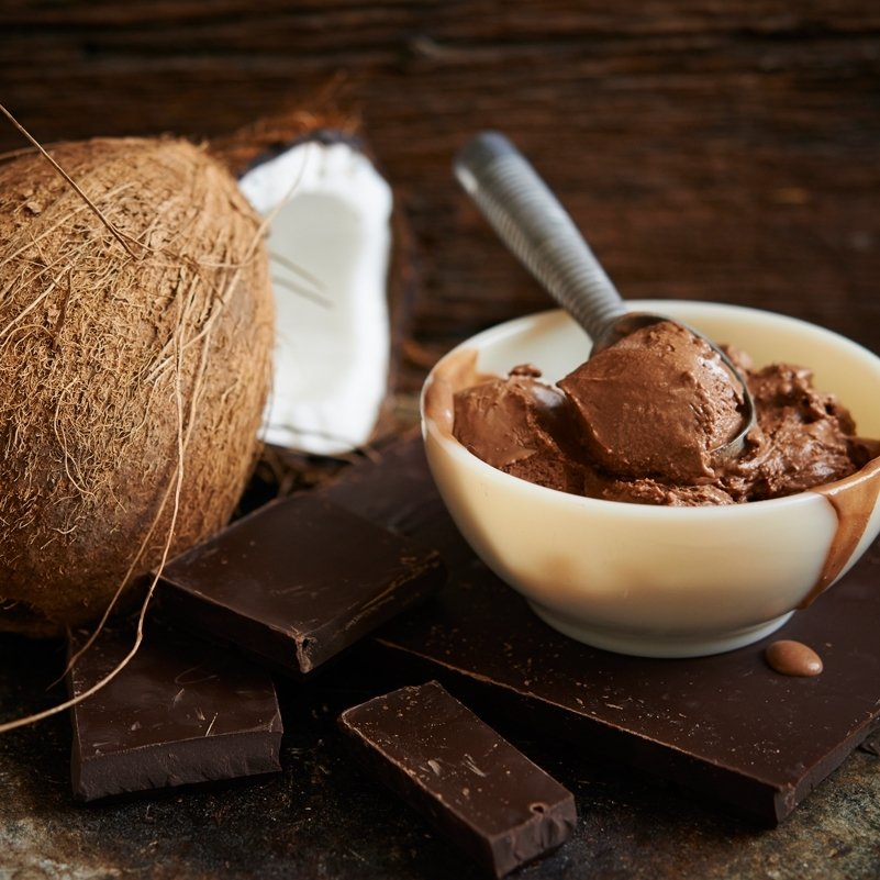 COCONUT CHOCOLATE FUDGE