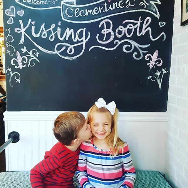 You're never too young to pucker up! Celebrate the little ones in your life with some sugar and a sweet snap.