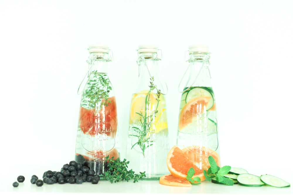 Infused Water Recipes on In Fine Feather