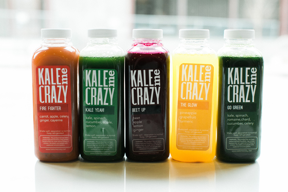 Kale Me Crazy on In Fine Feather Blog