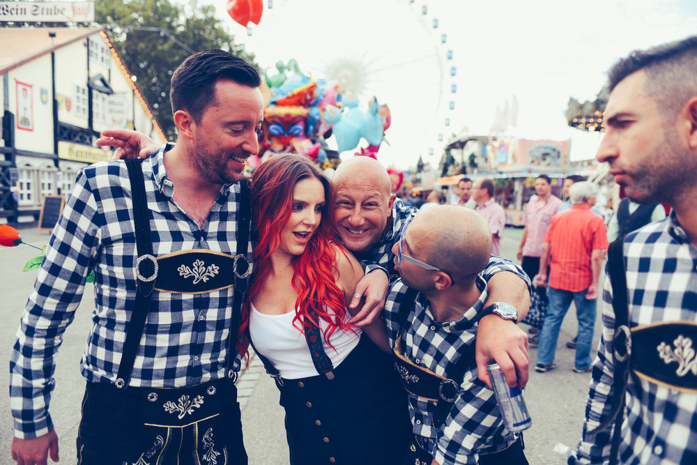 germany, beerfest, stuttgart, boho bunnie, andrea whitt, germany beerfest, oktoberfest, ashley marie myers, travel, colorful, carnival, german, german girl,