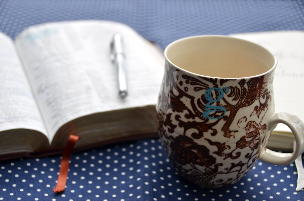 Anthro Mug and Bible