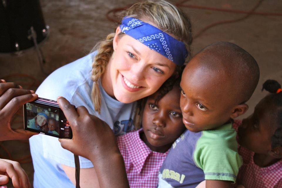 Marisa in Haiti