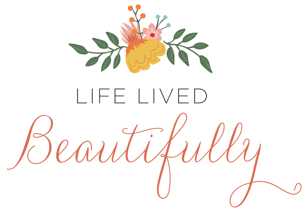 The second Life Lived Beautifully logo. Our branding has slowly changed as God has changed the vision of LLB.