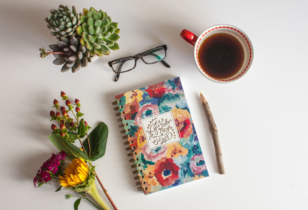 "Fall Floral ""Give Me Jesus"" Journal"