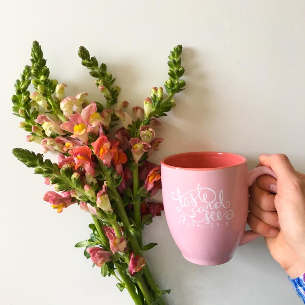 The new Taste and See mug!