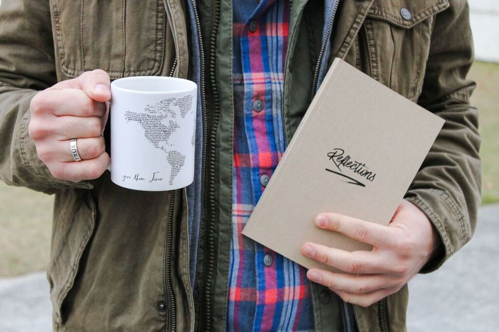 Give Them Jesus Mug + Reflections Journal