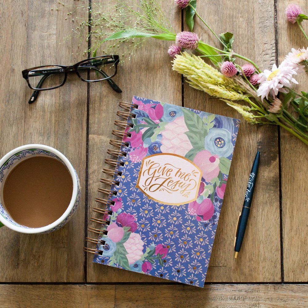 "The new and updated ""Give Me Jesus"" quiet time journal!"