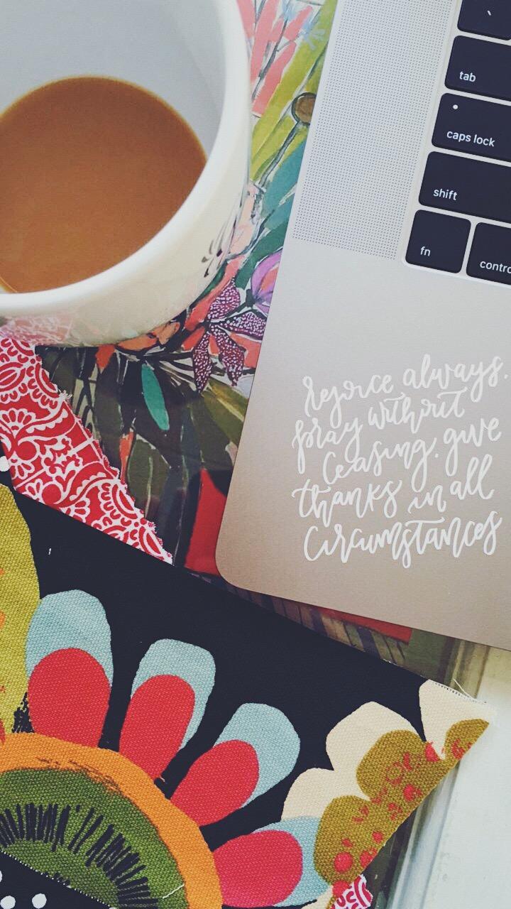 Custom laptop lettering vinyl from Hardy Everyday