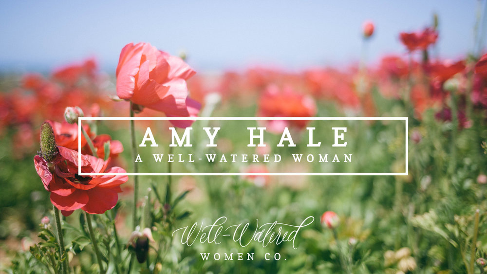 Today we're sharing an interview with Amy Hale, a dear friend of ours who we look up to in so many ways! Amy shares her heart regularly on  Instagram  and  Facebook  and is constantly encouraging women to get into God's Word.
