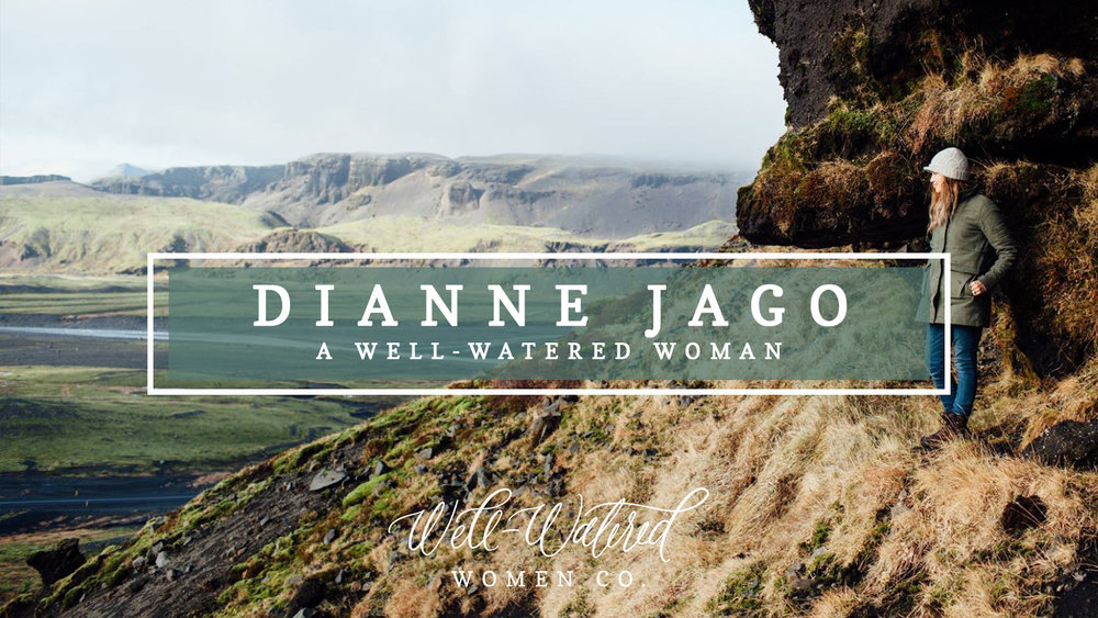 Today we're introducing you to Dianne Jago, the creator of Deeply Rooted Magazine, one of our favorite resources for women in the Word. Dianne is a wife, mother, writer and seminary student, and we know you're going to love hearing from her heart in this season of life!