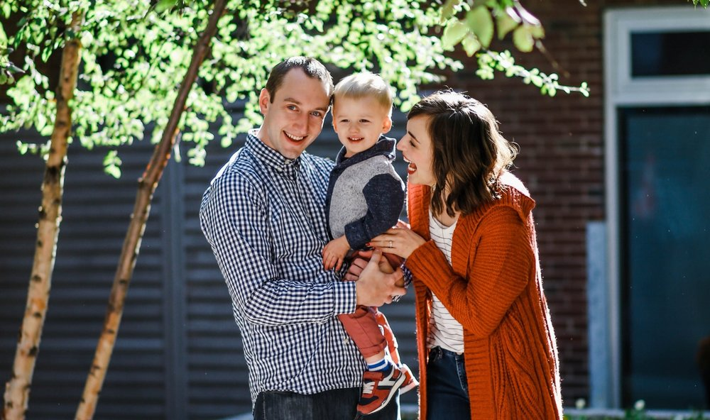Photo of our family by  Allison Naylor Photography!