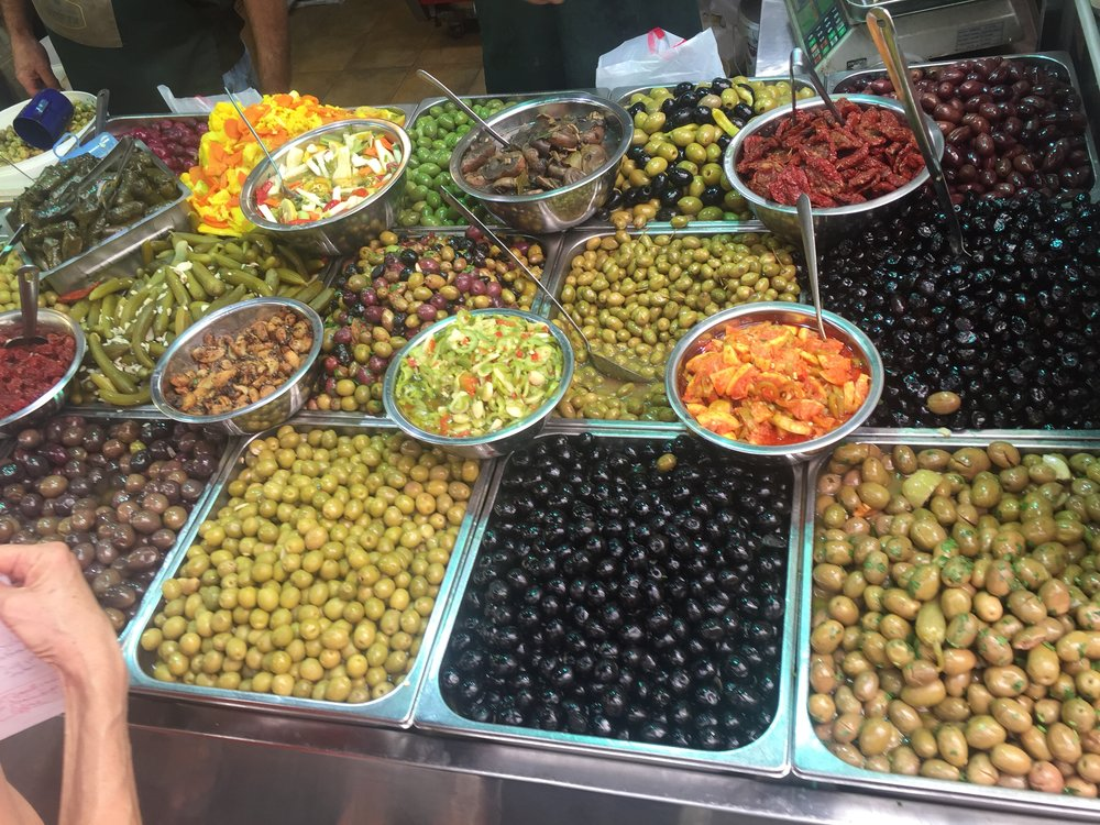 Shuk Olives and Pickles