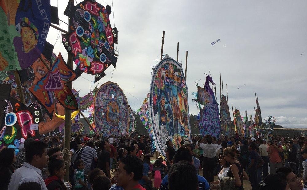 Sumpango Kite Festival November 1st