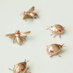 Gilded Love Bug DIY