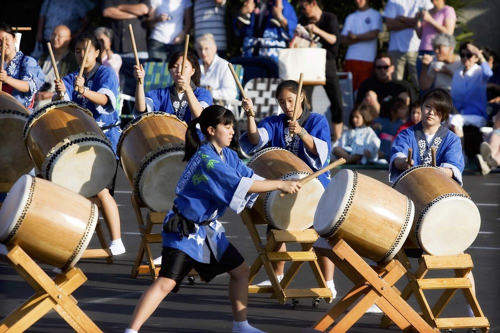 Taiko performance begins at 6:30pm