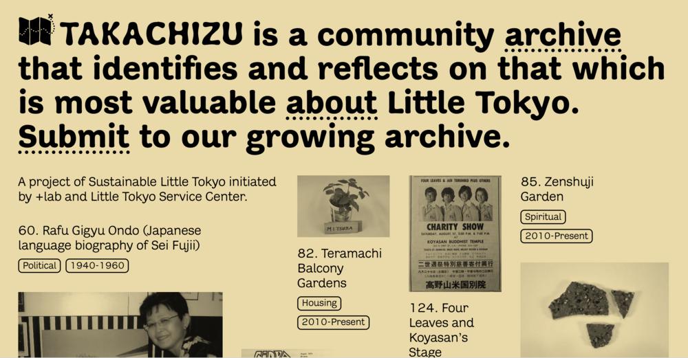 Takachizu website  © Rosten Woo