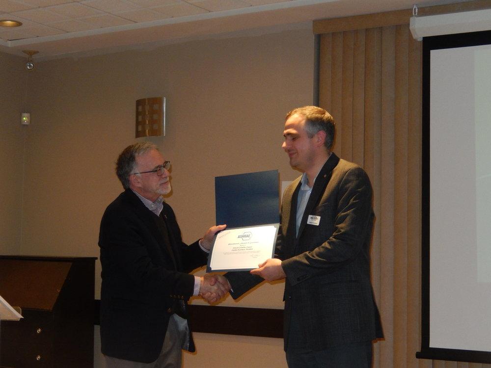 Stephen Kooiman PAOE Award.jpg
