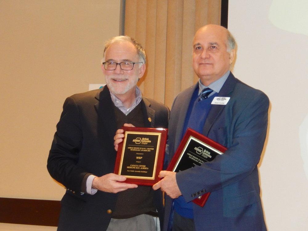 Tim Wentz, Nasser Koochek Technology Award (2).jpg