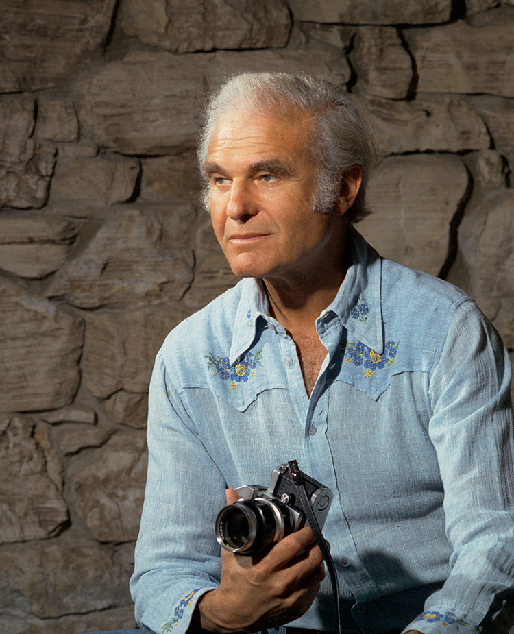 Bern Schwartz, Self-Portrait , La Jolla, CA, 1970s