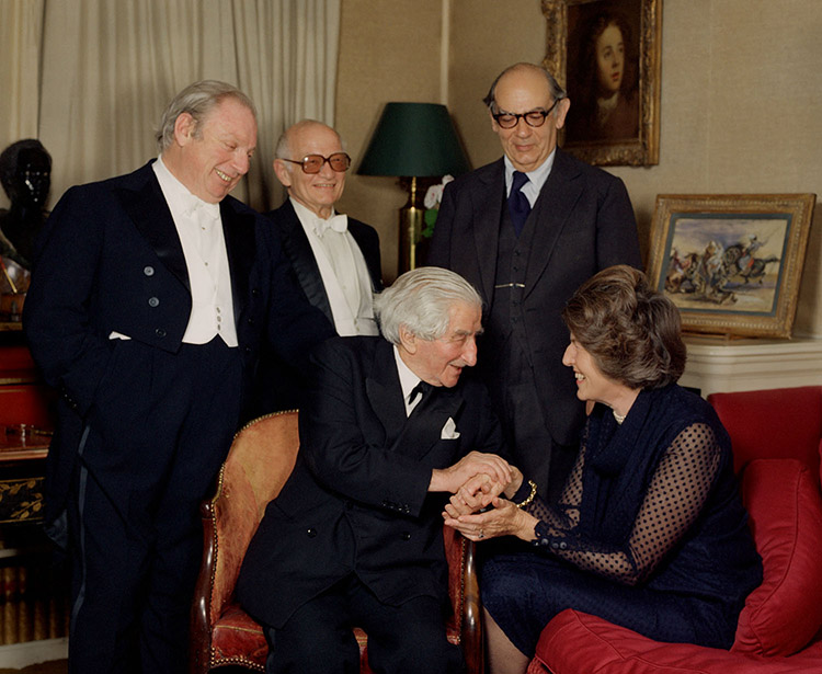 Isaiah Berlin (1909-1997), Lady Berlin (b. 1915) and others |  More Information