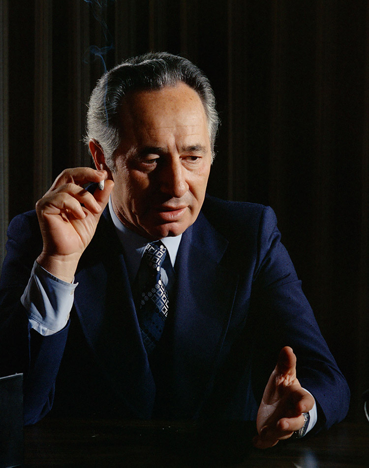 Shimon Peres (b. 1923) |  More Information