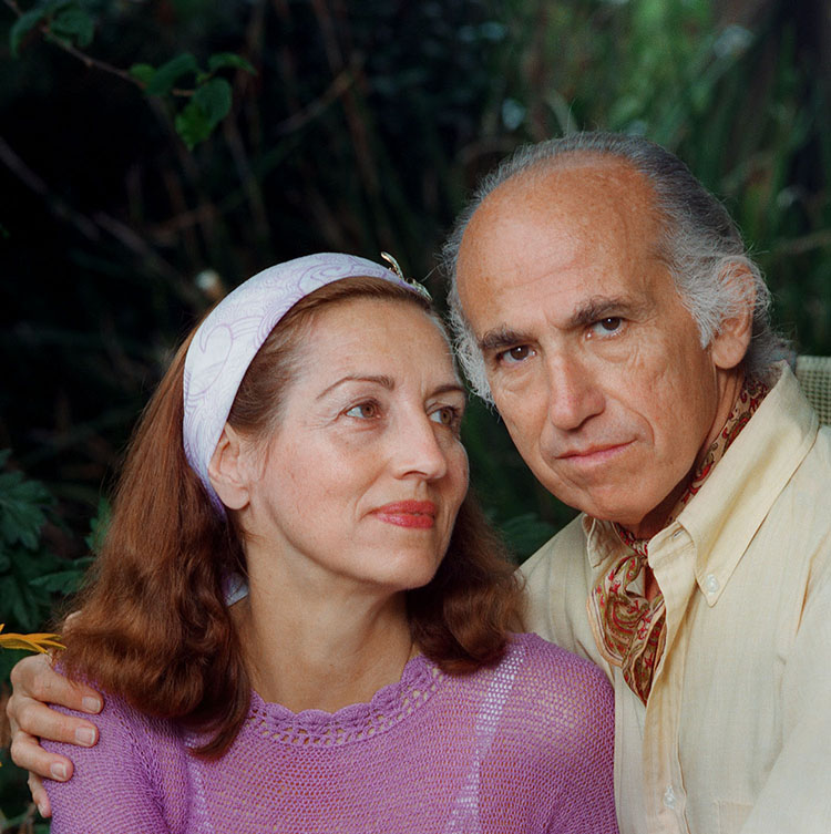 Dr. Jonas Salk (1914-1995) and Françoise Gilot (b. 1921) |  More Information