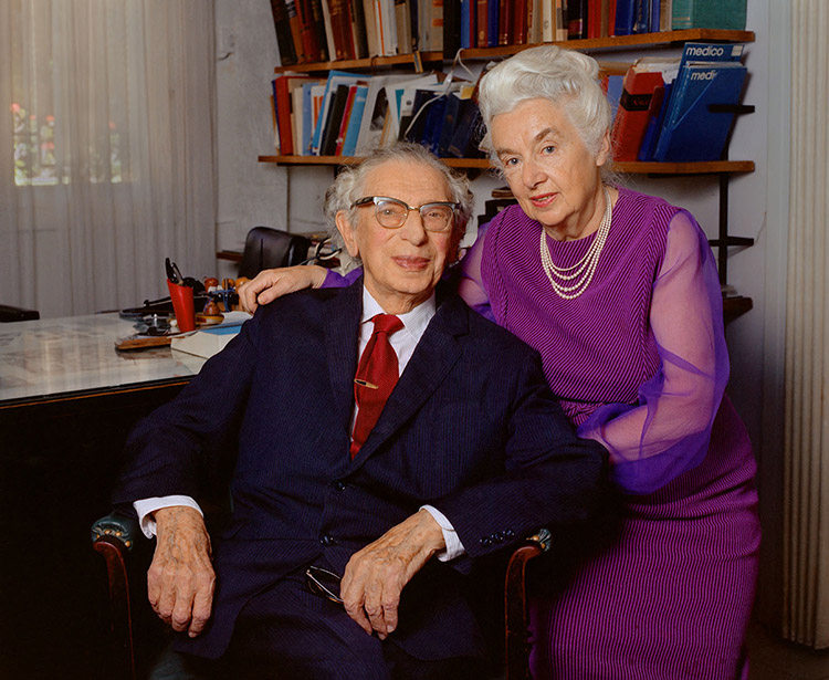 Drs. Abraham (1892-1977) and Malka (1895-1982) Spighel |  More Information