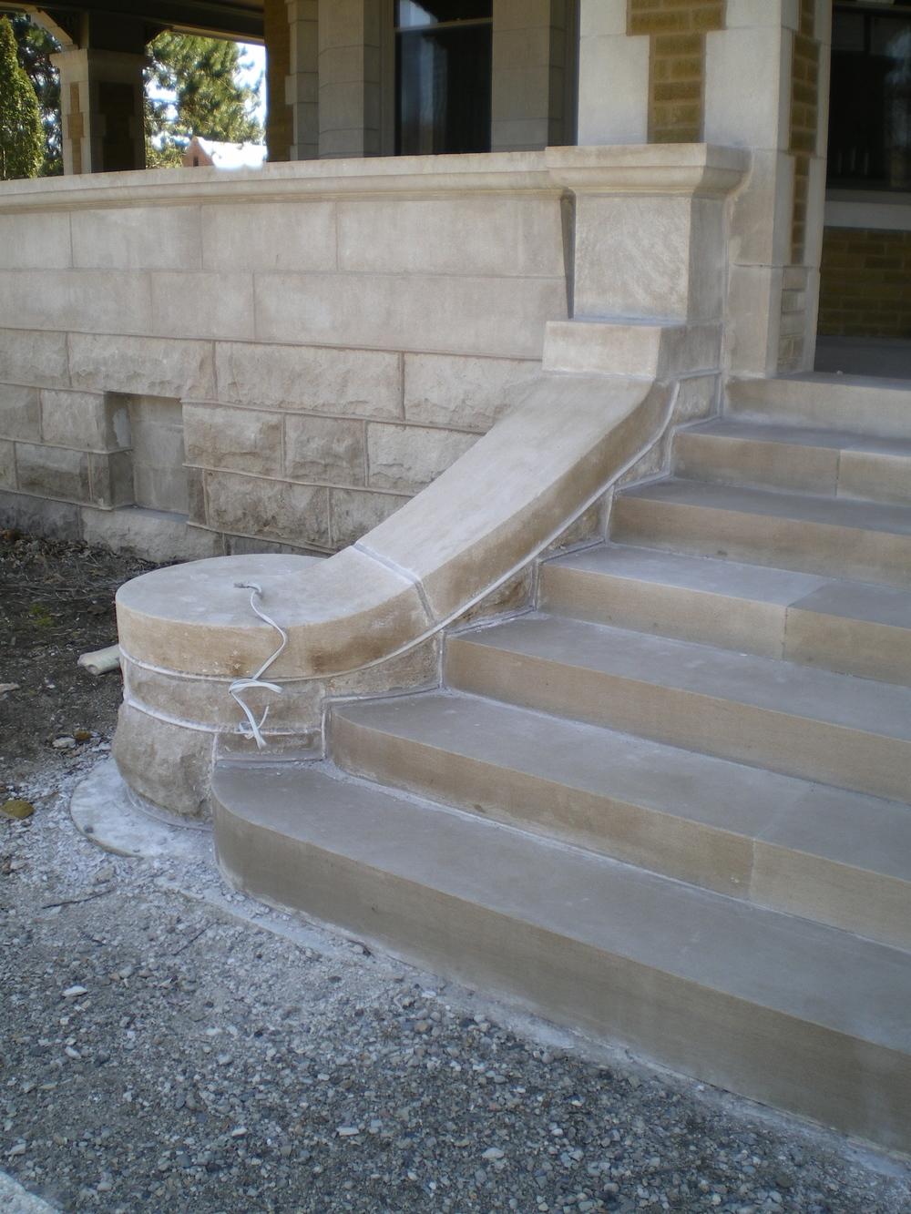 Stone Step Restoration